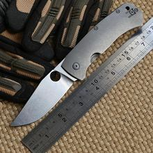 Quality Folding Blade Pocket Knife Utility D2 Blade TC4 Titanium Handle Tactical Knife Survival Camping Outdoor EDC Knives Tool