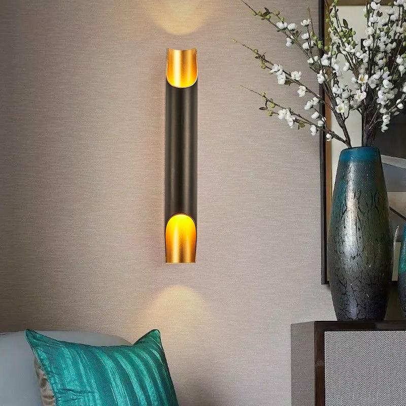 SGROW Наклонный настенный светильник с открытым дизайном, осветительные приборы, современные настенные бра для ванной комнаты, алюминиевые т