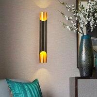 SGROW наклонной открытия дизайн настенный светильник светильники Современный Ванная комната бра Алюминий трубы свет светодио дный Lampara для С