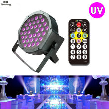 36W UV LED Stage Light Sound Active 36 LEDs Auto DMX Ultraviolet Strobe Par Black Lights For Disco light DJ Projector Party(China)