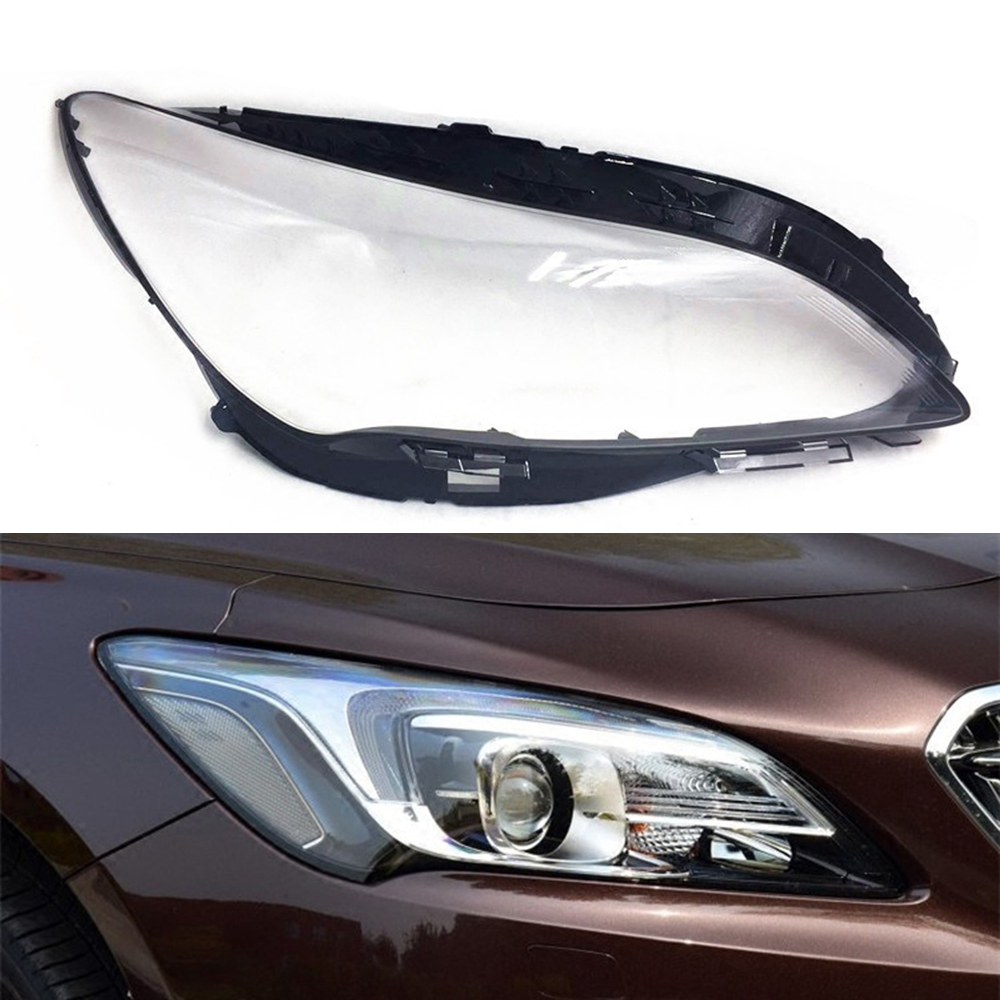For Buick LaCross 2016 2017 Car Headlight Headlamp Clear Lens Auto Shell Cover