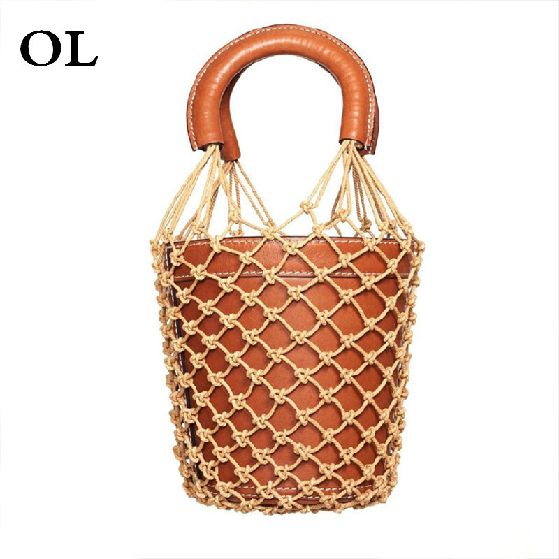 [[OL]] 2018 New Summer Autumn 8 Style Fashion Tide Convenience Braided Rope Nets Grid Soft Women Wild Accessories H480