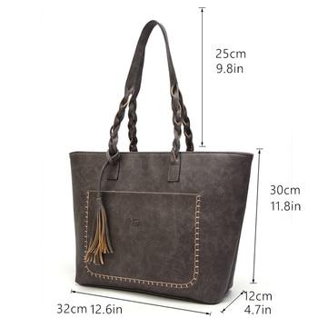 Causal Tassel Shoulder Bag 4