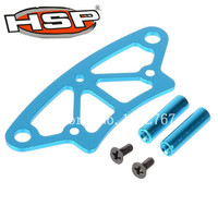 HSP 122058 102058 02009 Aluminum Front Bump Upgrade Spare Parts Accessories For RC 1/10th 4WD Nitro Car XSTR POWER 94122