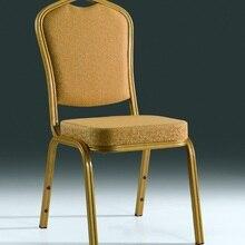 Качественные прочные золотые складные алюминиевые банкетные стулья LQ-L1030GR