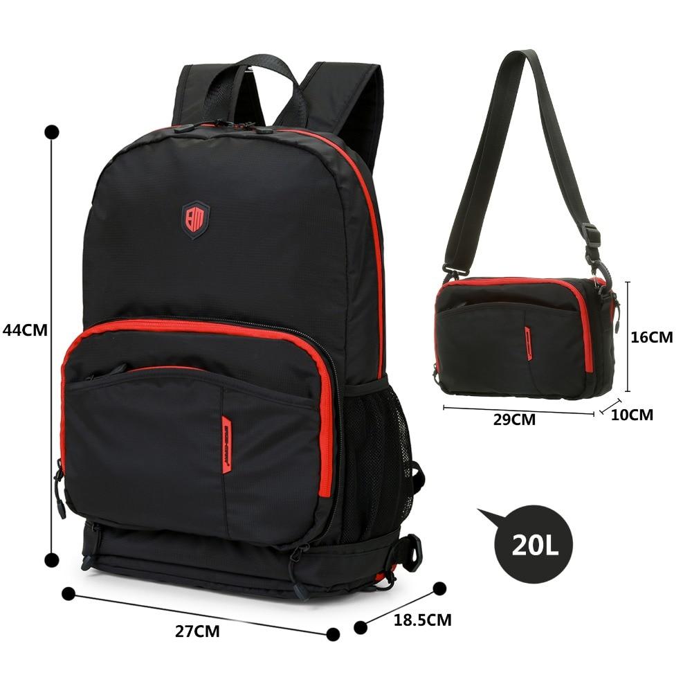 BAGSMART Multifuctional Foldable Backpack