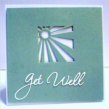 Got well soon feel better Metal Cutting Dies DIY Scrapbooking Album Paper Cards Craft Decor Embossing Stencils New 2019