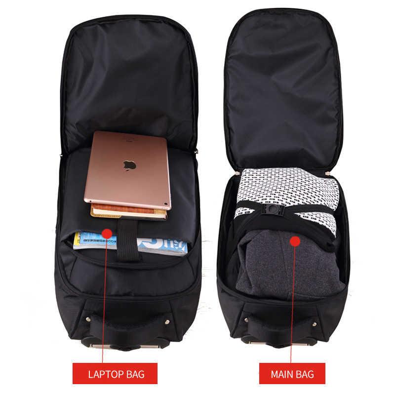 8aa7f66f9361 ... MAGIC UNION Men s Travel Bag Man Backpack Polyester Bags Waterproof  Computer Packsack Brand Design Backpacks Trolley ...