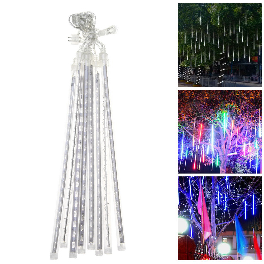 TSLEEN Free Shipping! Led String Light Fairy Lamp Meteor Shower Rain Lights Icicle Snow Lamp 30cm  50cm Tubes For Wedding Party