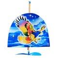 Бесплатная Доставка Бабочка Резиновая Лента Powered Планер DIY модель самолета Сборка самолета модель Сборки Игрушки головоломки дети подарок