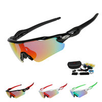 EOC Professional Polarized Cycling Glasses Bike Goggles Fishing Outdoor Sports Sunglasses UV 400 With 5 Lens