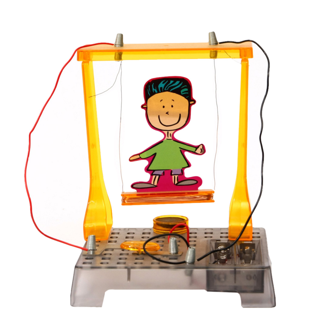 Diy Electromagnetic Swing Magnetic Experiment Steam Stem Toys Learning Toy For Kid Christmas Gifts 100% Guarantee Home