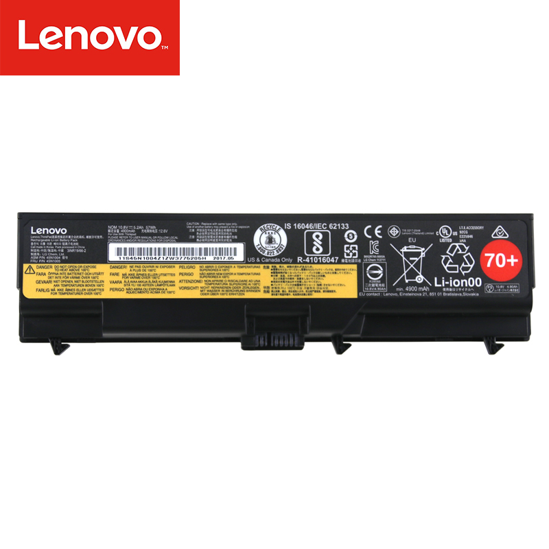 Original Laptop battery For Lenovo ThinkPad T430 T430I T530 T530I W530 SL430 SL530 L430 L530 45N1007 45N1004 45N1005 6 core 20v 6 75a 135w original ac adapter charger laptop power supply for lenovo thinkpad t530 t520 w530 w520 w510 3pin 45n0059 45n0055