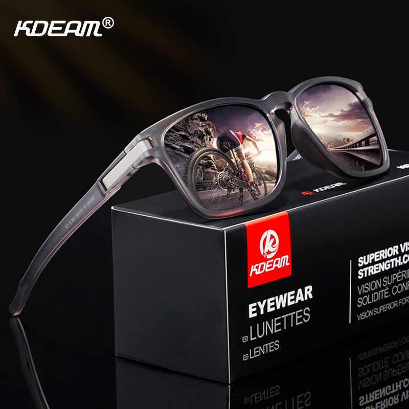 b543db18c74 KDEAM Sport Style Polarized Sunglasses Men Women HD Driving Sun Glasses  Ultralight Frame UV400 Goggles Male