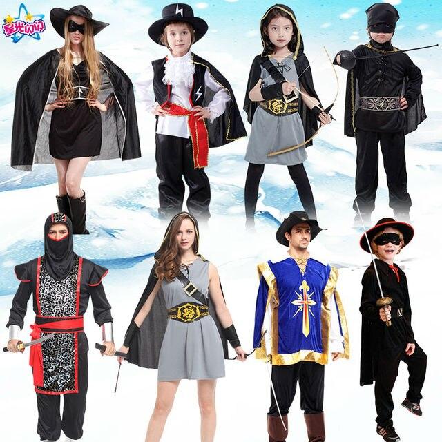 Aliexpress.com : Buy Ninja Costume Huntress Child Ancient Warrior ...