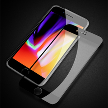 4D Screen Protector For iPhone 8 7 Plus TOTU 0.23 Premium Soft Edge Protection Tempered Glass For iPhone8 Full Cover Glass Film