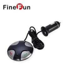 FineFun V3.0 auriculares Estéreo Bluetooth Inalámbrico 10 m Distancia de Transmisión Kit de Coche Transmisor FM Reproductor de MP3 de la Ayuda Tf