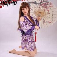 Bambola solida In Diretta Uomo Intagliato A Mano Giapponesi Reali Bambole Del Sesso Del Silicone Hot Lady Sex Dolls Scheletro In Metallo Grande Culo e Figa VANESSA