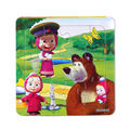 3 Pçs/lote Papel quebra-cabeças para crianças brinquedos infantis brinquedos Masha Eo Urso Princesa brinquedos para crianças brinquedos Do Bebê educacional