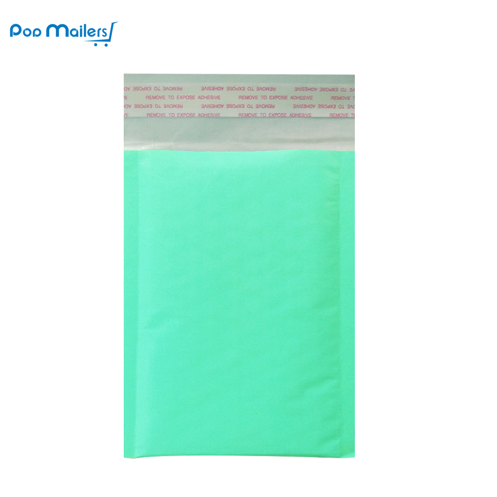 10pcs 4x7 Inches/12x18cm Kraft Bubble Mailing Mailer Shipping Padded Envelope Bags Teal Shockproof Courier Bubble Mailer