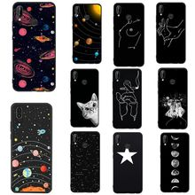 Cover For Huawei P20 Lite Case Soft Silicon Funda Line Print Phone Case For Huawei P Smart P10 Lite P8 P9 Lite 2017 Cases Cover(China)