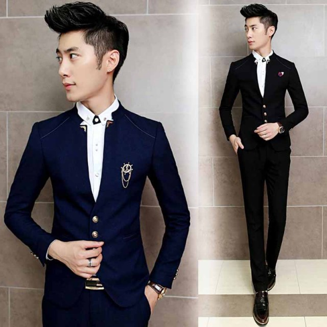 Aliexpress.com : Buy jacket pant free shipping 2016Korean mens ...