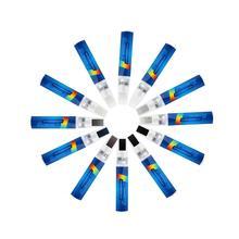 طلاء السيارات إصلاح الصفر فرشاة قلم قلم تحديد الطلاء طلاء مضاد للماء القلم سيارة الإطارات فقي الرعاية 12 ألوان السيارات سيارة التصميم