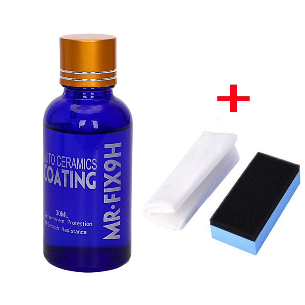 Car Coating Car Polish Liquid Ceramic Coat 9H Anti-scratch Glass Auto Detailing Glasscoat Motorcycle Paint Care Dropshipping