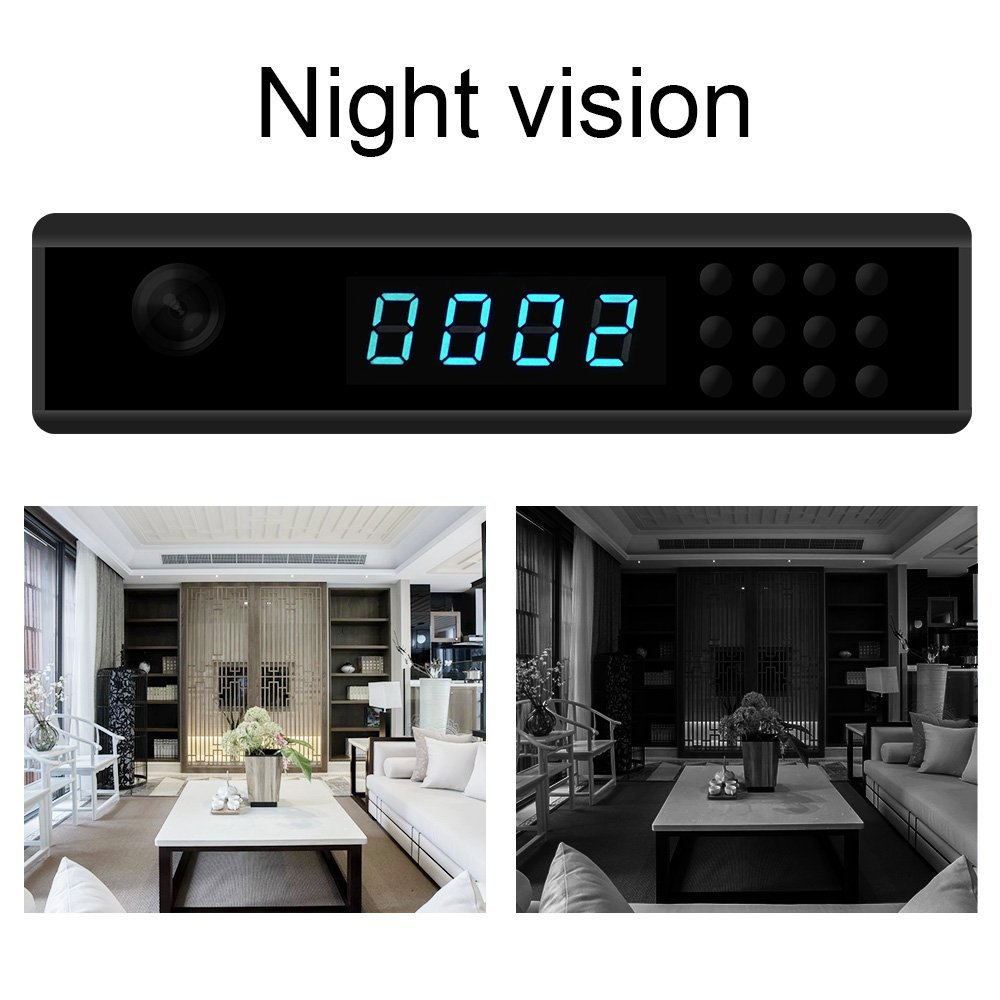 Mini clock camera 10