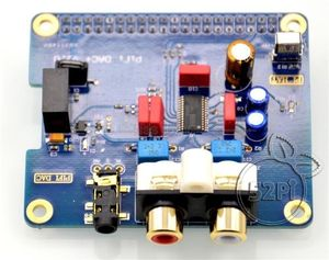 Image 3 - PCM5122 Raspberry pi B + 2/3B HIFI DAC + звуковая карта цифровой аудио модуль интерфейс I2S специальная музыка Volumio PIR