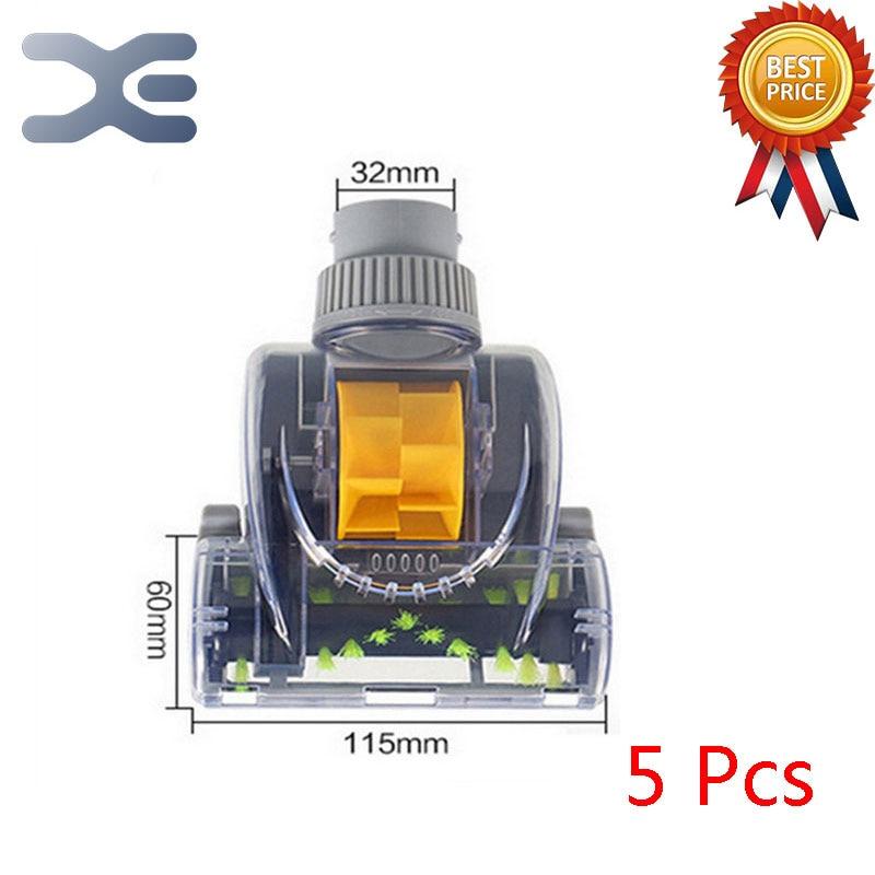где купить 5Pcs Vacuum Cleaner Brush Accessories In Addition To Mite Brush Color Wind To Brush The Brush Through The 32mm по лучшей цене