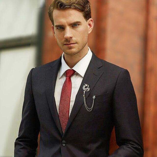Броши брошь распродажа с драконом высокого класса модная мужская