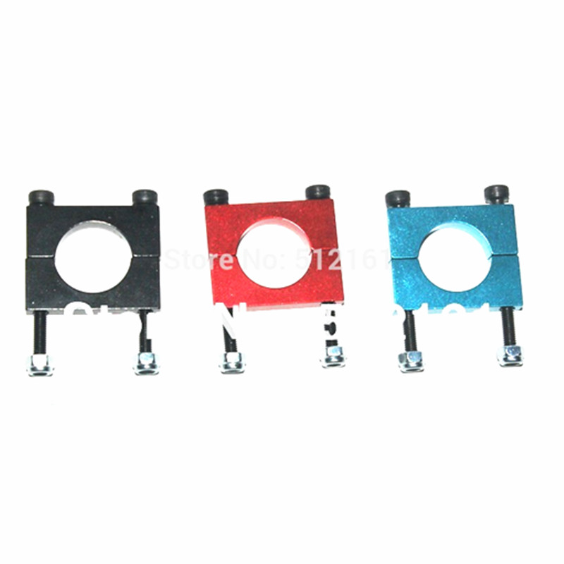 10Pcs 12mm Aluminum Clamp Clip for Carbon Fiber Tube RC Quadcopter Hexrcopter