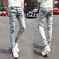15 Styles Pencil Skinny jeans men cotton denim slim fit straight famous brands Fashion designer high quality man spring 2014