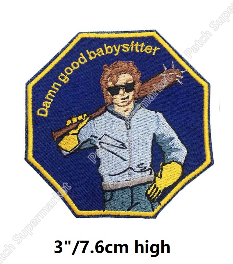 3 Stranger Things steve harrington Inspired Patches TV Series Costume Embroidered iron on Costume badge for
