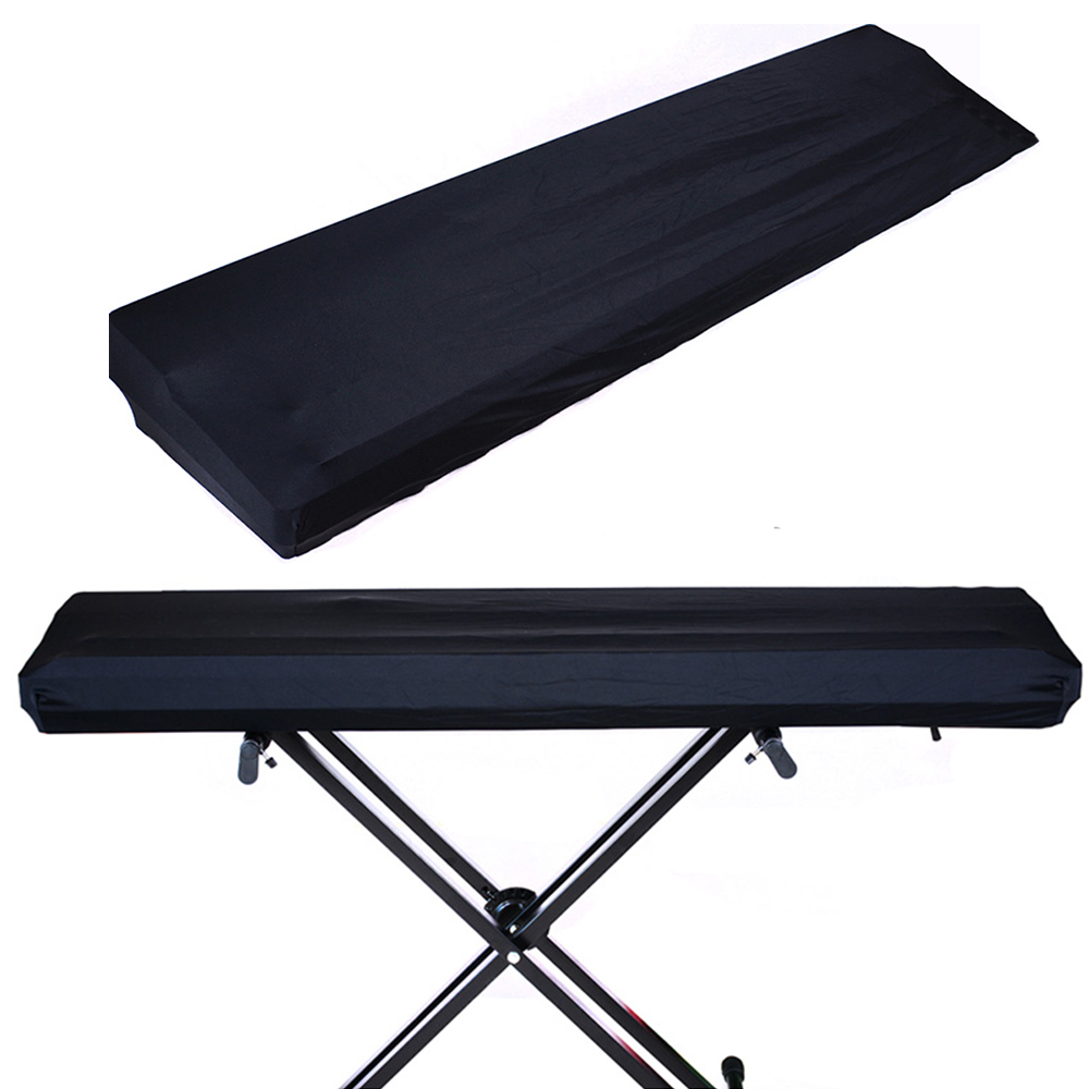 Electric Piano Keyboard Dust Cover For 88 Keys And 61/73/76 Keys Stretchable Elastic Fabric And Locking Clasp Synthesizer Cover