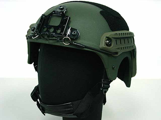 IBH Helmet w/ NVG Mount & Side Rail For Airsoft Paintball War game Field game tactical helmet mich 2001 military tactical combat helmet nvg mount side rail outdoor tactical helmet