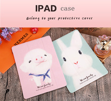 Shockproof Cute Ultra-thin Case for Apple iPad 9.7 inch  Kickstand Kids Silicone Full Body Protective Case Cover for iPad 2 3 4 стоимость