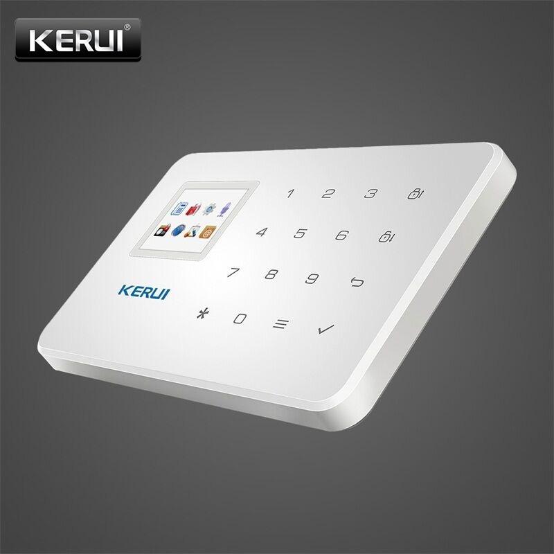 KERUI G18 GSM Home Security Alarm System Eingebaute Antenne Alarm Anroid IOS App Fernbedienung Low-spannung Erinnern Alarm