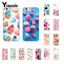 Yinuoda Macaroons and Cupcakes Cute Girly DIY Luxury Case for iPhone 8 7 6 6S Plus X XS MAX 5 5S SE XR 10 11 11pro 11promax yinuoda macaroons and cupcakes cute girly diy luxury case for iphone 8 7 6 6s plus x xs max 5 5s se xr 10 11 11pro 11promax