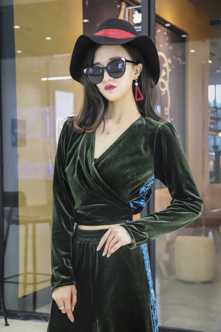 2 piece set women suit female 2019 spring and autumn fashion European style street clothing loose casual suit