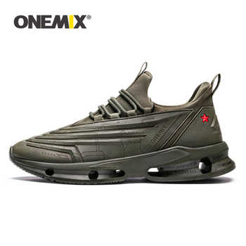 ONEMIX Shoes Women 2019 Spring Newest Technology Style Breathable Mesh Men Sneakers Walking Outdoor Sports Shoes Running Shoes - DISCOUNT ITEM  40% OFF Sports & Entertainment