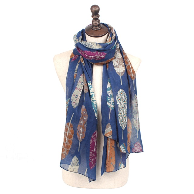 Colorful Leaves Scarves | Shawls & Wraps