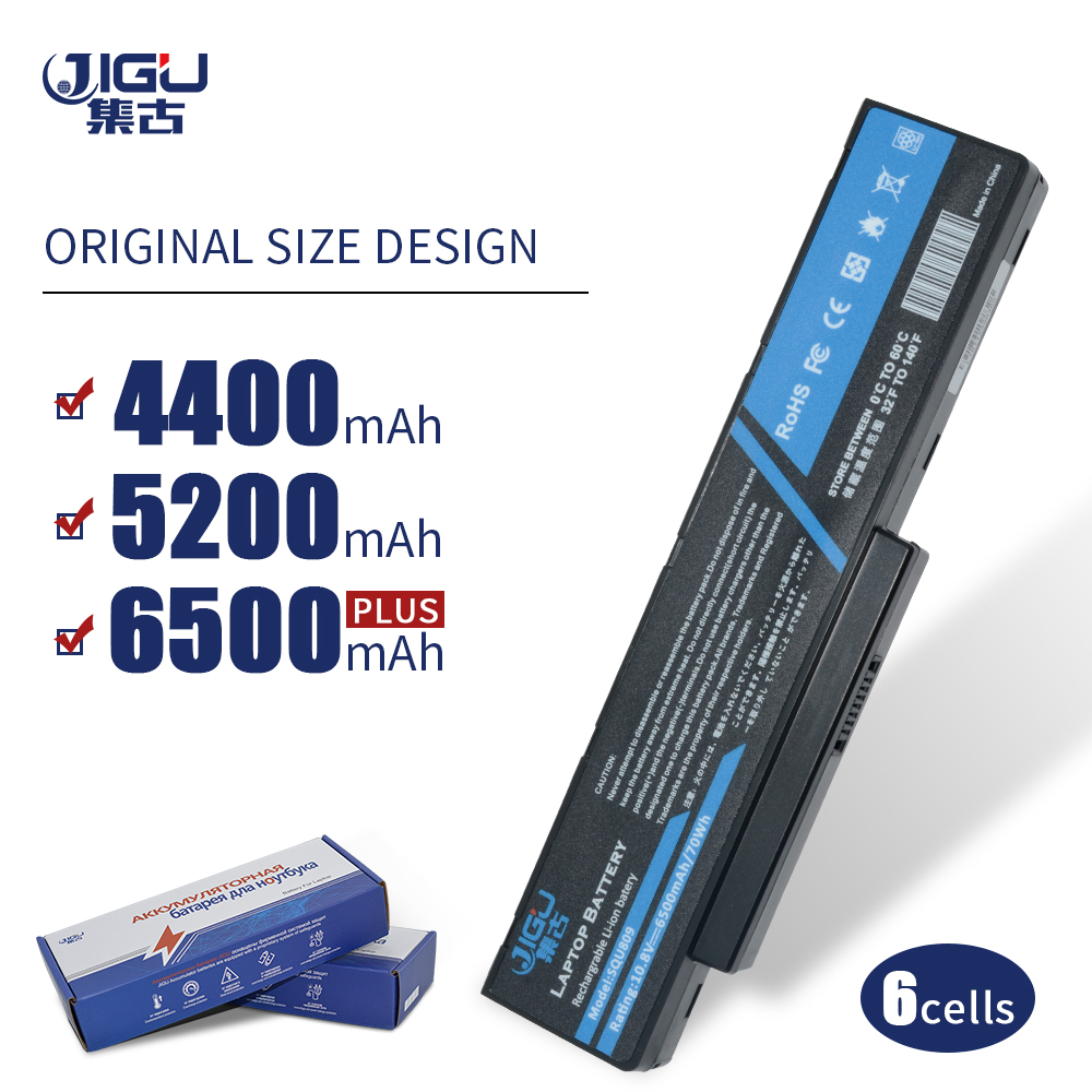 JIGU 6 Cellules batterie d'ordinateur portable Pour Fujitsu Amilo SQU-809-F02 SQU-809-F01 SQU-808-F02 Pi 3560 Li3710 Li3910 Li3560 Pi3560 Pi3660