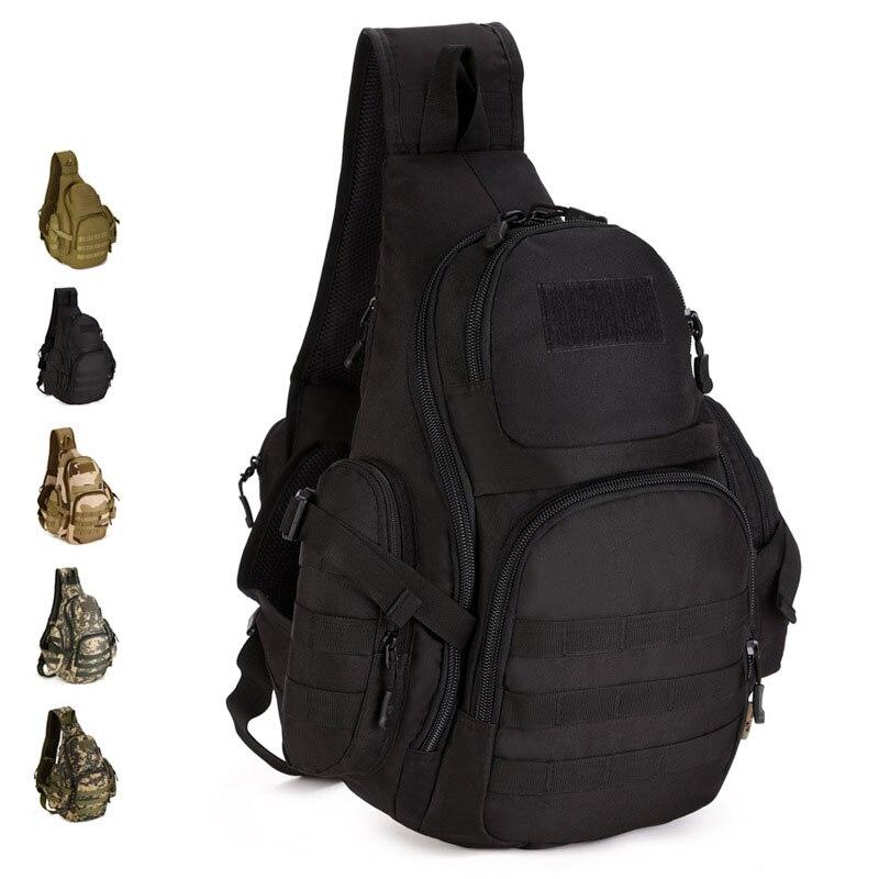 Outdoor Single Shoulder Large Cycling font b Backpack b font 14Inch Laptop font b Tactical b