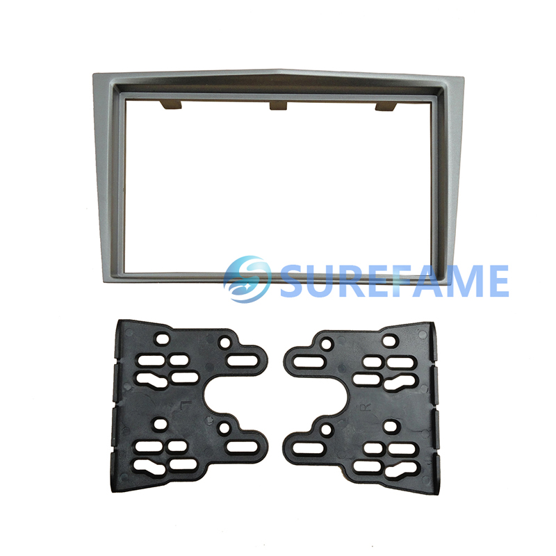 Double Din Radio Fascia for Opel Astra Antara Corsa Zafira Stereo Panel Dash Kit