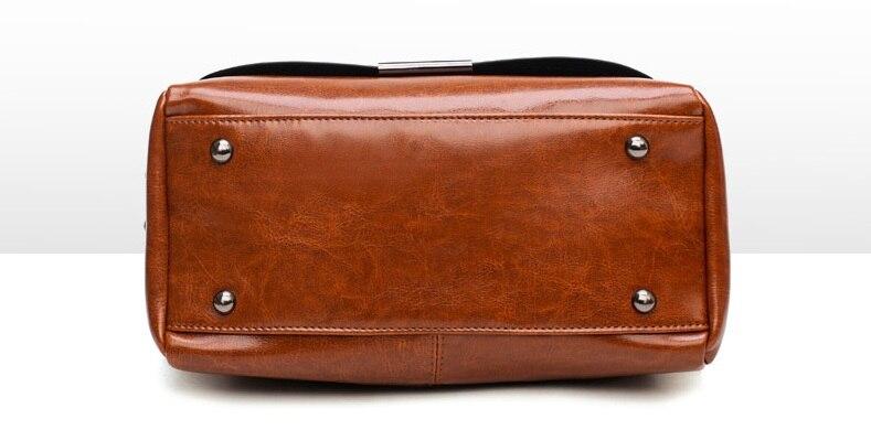 Bolsa de couro bolsas marcas famosas ombro