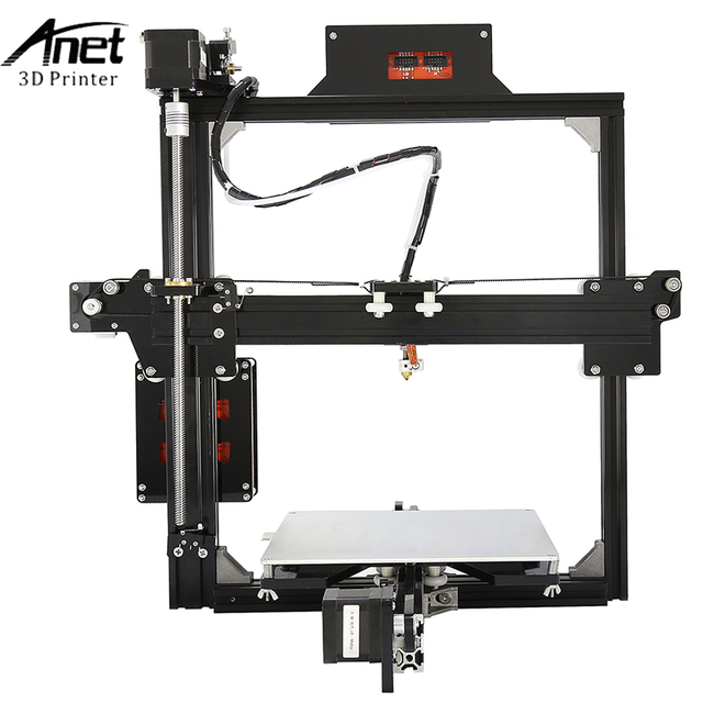 Anet A2 3d Printer Large Printing Size 220*270*220mm Full Metal Frame 3D Printer Kit DIY Easy Assemble With Free 10m Filaments 2