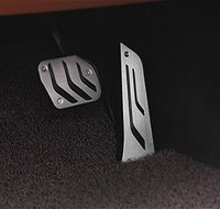No Drilling Fuel Brake Pedal Pad Covers M For BMW 1 2 3 4 5 6