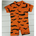 Newborn Baby Rompers Toddler Costumes Summer Short Sleeve Animal Infant Jumpsuit Clothes Tigger and Winnie Baby Boy Girl Clothes